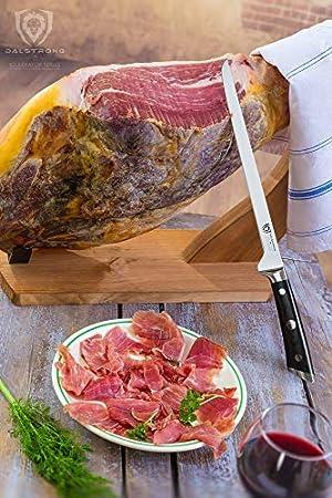 Dalstrong Gladiator Series - Cortador de carne y jamón (30,5 cm)