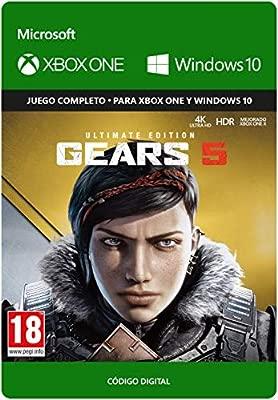 Gears Of War 5 Ultimate Edicion Xbox One Codigo De