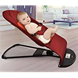 Baby Balance bouncer Balance Chair Alloy baby Bassinet Bed lightweight Folding Crib Cradle YY118 red