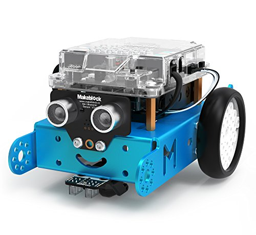 Makeblock mBot Robot Kit, DIY Mechanical Building Block, STEM Education, Entry-Level Programming Improves Kids' Logical Thinking and Creativity, Compatible with LEGO(Blue, 2.4G Version, - Kit Robot Sumo