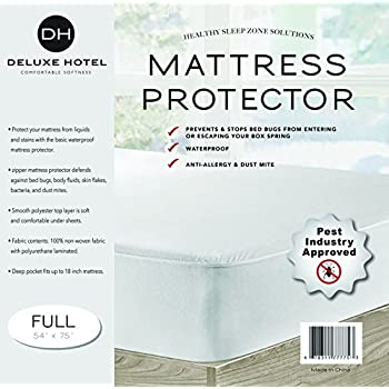 Dreamtex Home Pebbletex Tencel Bed Bug Mattress Encasement, Full