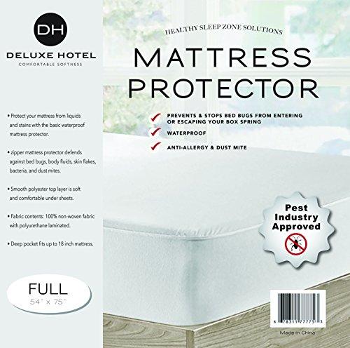 Ultimate Bed Bug Blocker Zippered Mattress Protector (Full)