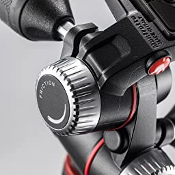 Manfrotto MHXPRO3W X-PRO 3-Way Head with Retractable Levers and Friction Controls with Two Ivation Replacement Quick Release Plates for the RC2 Rapid Connect Adapter