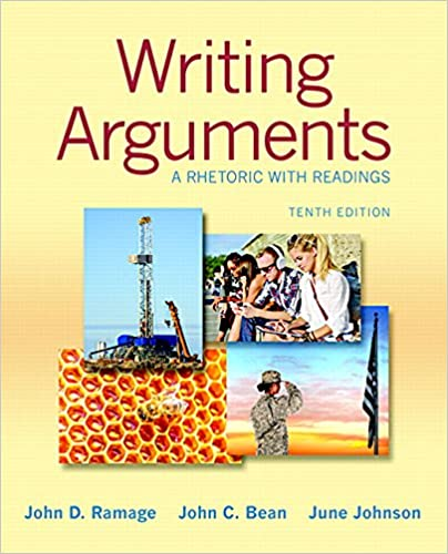 Writing Arguments A Rhetoric With Readings 10th Edition Pdf