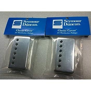 Amazon.com: Seymour Duncan Classic Cover Nickel Silver Humbucker ...