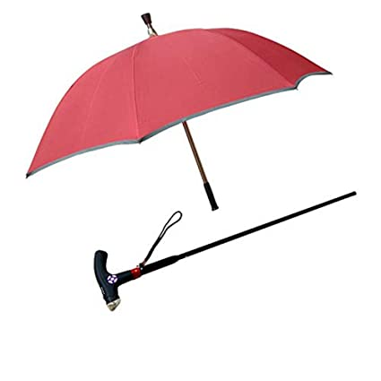 55c3f36450616 Walking Stick Sun Umbrella Two-in-One Cane Intelligent Walking  Multi-Function Cane