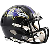 Riddell Baltimore Ravens Revolution Speed Mini Football Helmet - NFL Mini Helmets