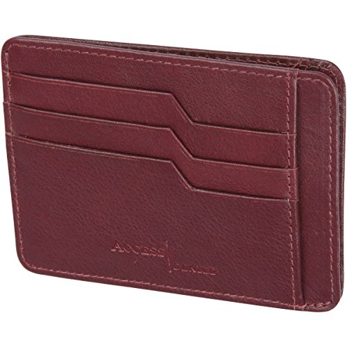 Access Denied Wallet Leather Holder