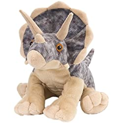 "Wild Republic Cuddlekin Triceratops 12"" Plush"