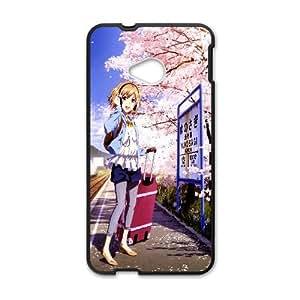 Ohana Matsumae Hanasaku Iroha Anime 2 HTC One M7 Cell Phone Case Black yyfabc-385873