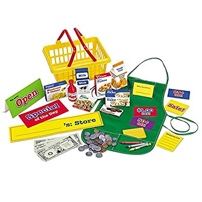 Learning Resources Play Supermarket Set, 93 Pieces: Toys & Games