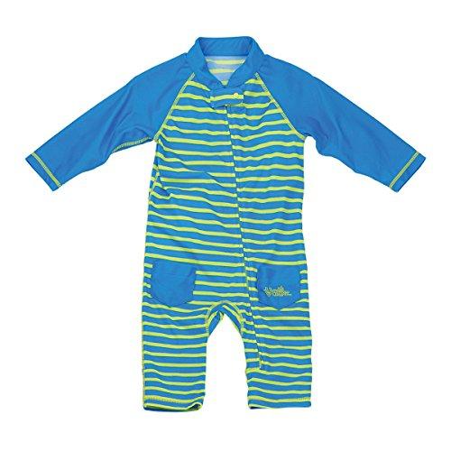UV Skinz UPF 50+ Baby Boys Sun & Swim Suit- Royal Stripes - 3/6m