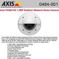 AXIS P3364-VE 12mm - T - 0484-001