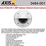 AXIS COMMUNICATION INC Axis P3364-VE Surveillance/Network Camera - Color, Monochrome<br>P3364-VE 12MM OUTDOOR VANDAL FIXED DOME<br>3.6x Optical - CMOS - Cable - Fast Ethernet
