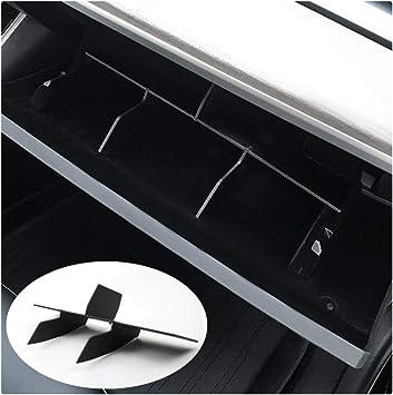 YEE PIN Car Glove Box Organizer Armrest Box Interval Storage Insert Divider Interior Accessories Compatible with Guide MP Compass 2017 2018 2019 Interior Accessories