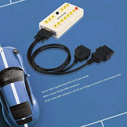 BianchiPamela Profession Obd2 Pin Out Box Breakout Box Tester Diagnostic obd2 Pin Connector