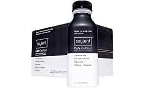 Soylent Meal Replacement Drink, Cafe Coffiest, 14 oz Bottles, Pack of 12 ( Packaging May Vary )