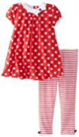 Little Me Baby Girls' Bubble Legging Set
