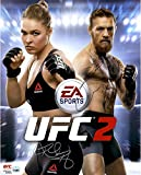 "Ronda Rousey and Conor McGregor Ultimate Fighting Championship Autographed 16""x 20"" EA Sports UFC 2 Cover Art Photograph - Fanatics Authentic Certified review"
