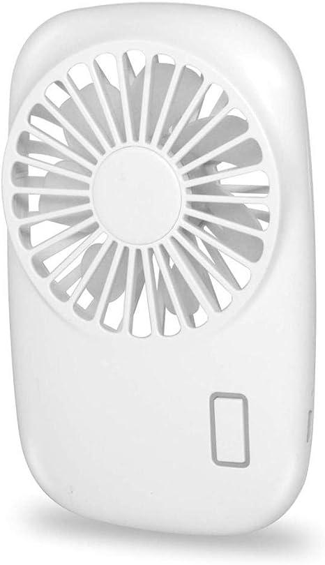 Ventilador de Mano Mini Ventilador Potente Pequeño Personal ...
