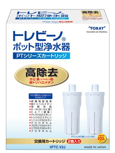 PTC.V2J replacement cartridge type water purifier series PT Toray Torebino pot (Japan import)