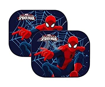 Marvel Spiderman Sunshades 2 Side Window Sun 44 x 35 cm x ...