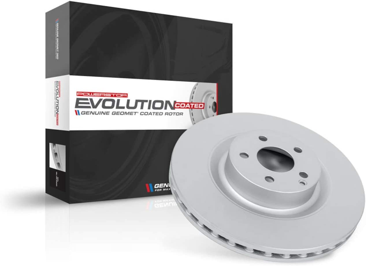 Power Stop EBR1022EVC rear Evolution/ Genuine Geomet Coated/ Brake Rotor