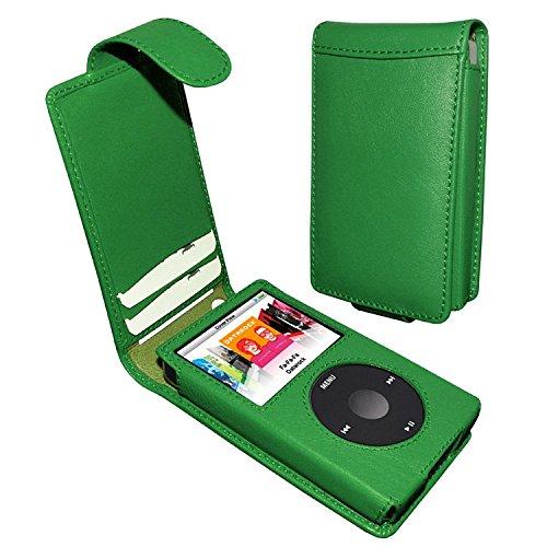 (Piel Frama iPod Classic 120 / 160GB Classic Snap Leather Case - Dark Green)