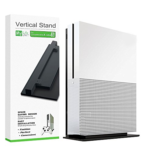 MyLifeUNIT Xbox One S Stand, Simplicity Cooling XBOX ONE Slim Xbox One S Vertical Stand