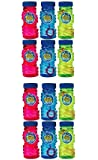 Amscan Fun Filled Summer Super Miracle Bubble Makers Party Activity, Multicolor, 4 oz (Value 12-Pack)