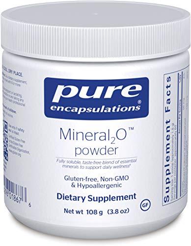 Pure Encapsulations - Mineral2O Powder - Mineral Water Enhancer - 108 Grams