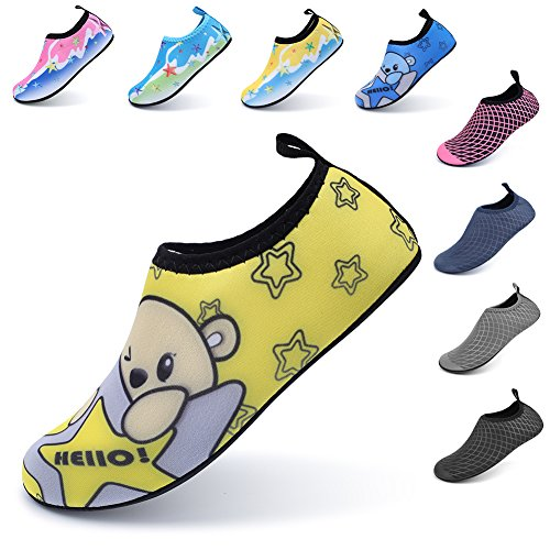 Pictures of LINGMAO Boys Water Shoes Barefoot Swimming Skin DD5050 4