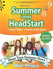 Lumos Summer Learning HeadStart, Grade 8 to 9: Includes Engaging Activities, Math, Reading, Vocabulary, Writing and Language