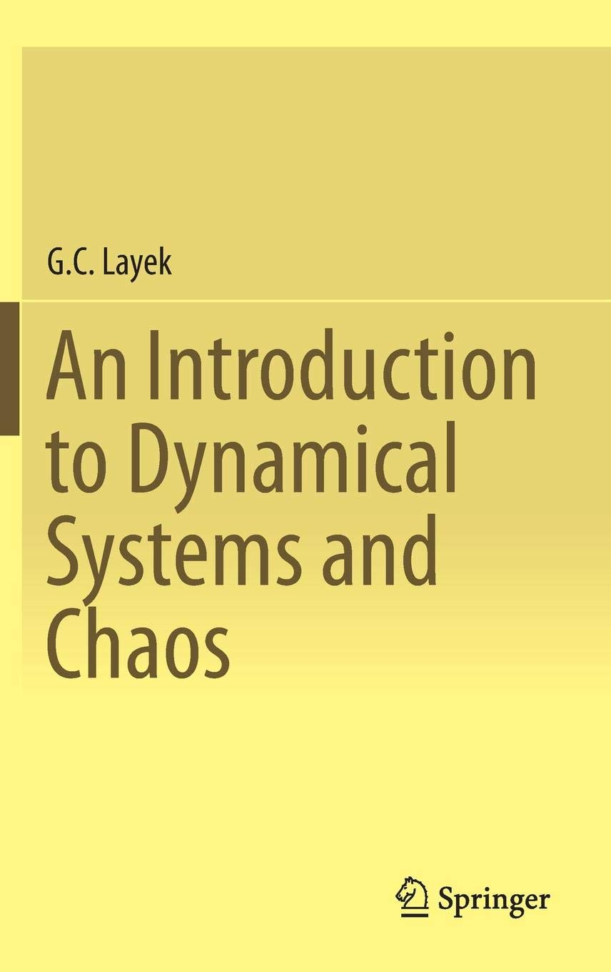 Chaos: An Introduction to Dynamical Systems