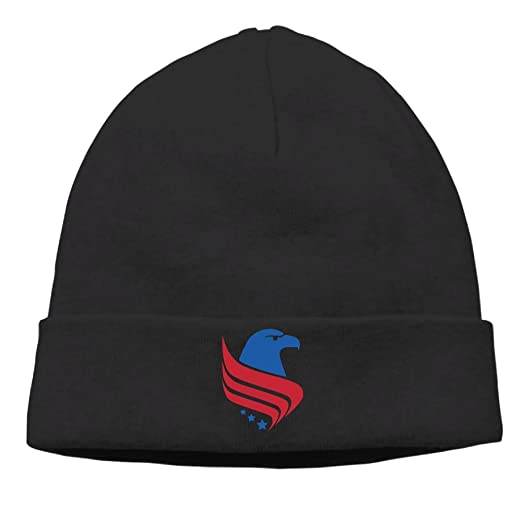 7fcd668fba73 Amazon.com: American Eagle USA Flag Logo Cable Knit Skull Caps Thick ...