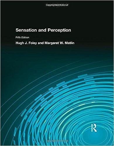 Amazon sensation and perception 9780205579808 hugh foley sensation and perception 5th edition fandeluxe Image collections