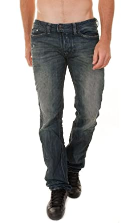 33843b23 Brand New Diesel Viker R-Box Mens Jeans, 0801N, Regular Fit Straight Leg  (801N) (29 x 32): Amazon.co.uk: Clothing