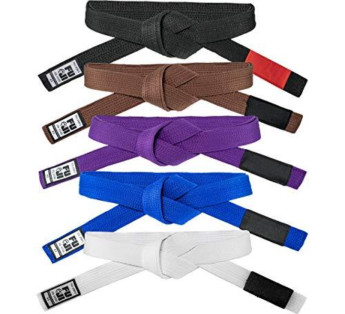 Fuji – Premium Pearl Weave BJJ Belt, Cotton-Blend