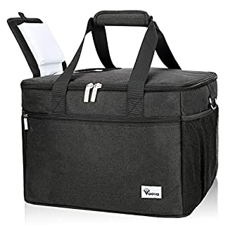 Voova Cooler Bag 50-Can (30L), Large Collapsible Cool Bag, Insulated Picnic Lunch Bag Box Soft Sided Wine Cooler Boxes… 11