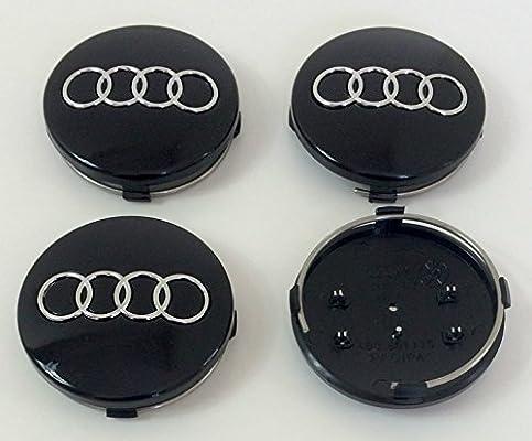 Audi Alloy Wheel Centre Caps 60mm Hub 4x 4B0601170 A 1 2 3 4 5 6 7 8 Q RS TT NEW