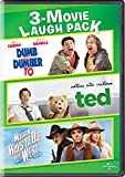 DVD : Dumb and Dumber To / Ted / A Million Ways to Die in the West 3-Movie Laugh Pack