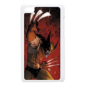 LSQDIY(R) Wolverine iPod Touch 4 Plastic Case, Personalised iPod Touch 4 Case Wolverine