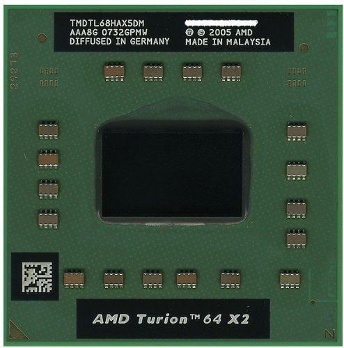 AMD Turion TL-68 TMDTL68HAX5DM 64 X 2 Dual-Core 2.4GHz Mobile Processor