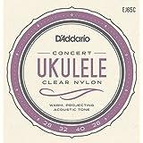 D'Addario EJ65C Pro-Arte Custom Extruded Nylon Ukulele Strings, Concert