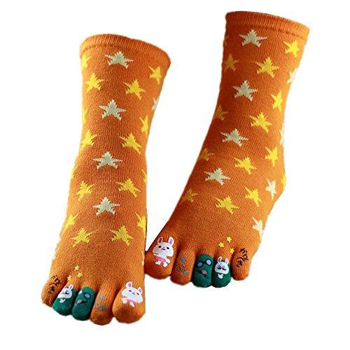Awayyang 2 Pairs Of Comfort Cotton Socks For Girls Cute Ankel Thumb Socks - Pair Glasses Canada Free First