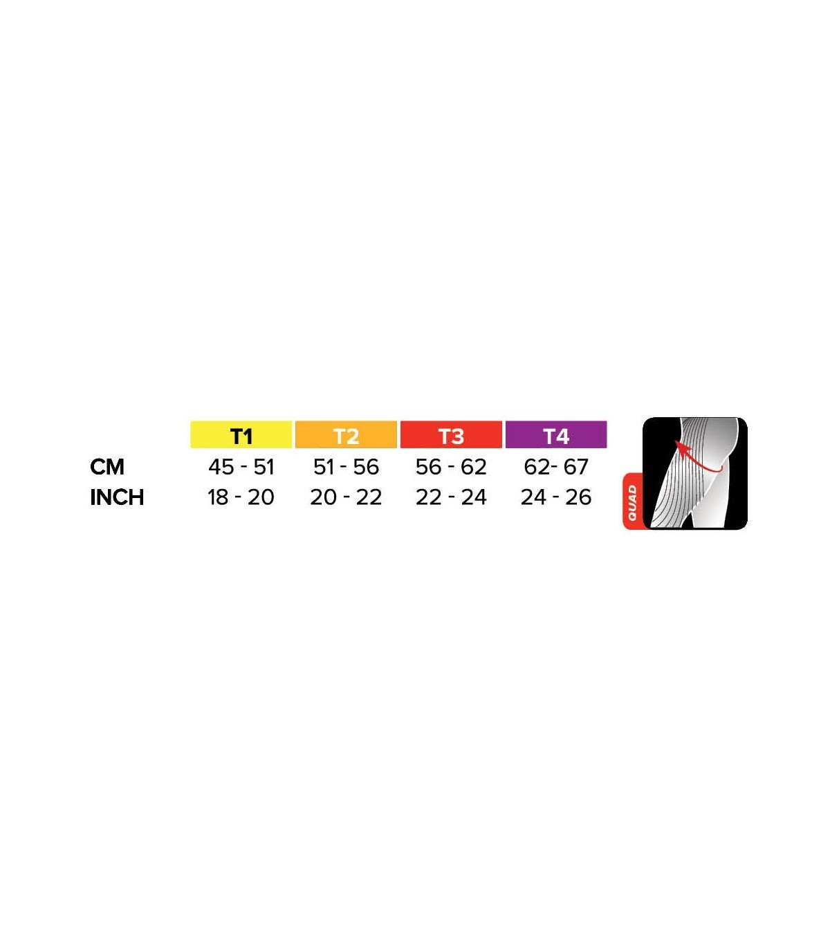 /Quad Color Black Compressport Racket/