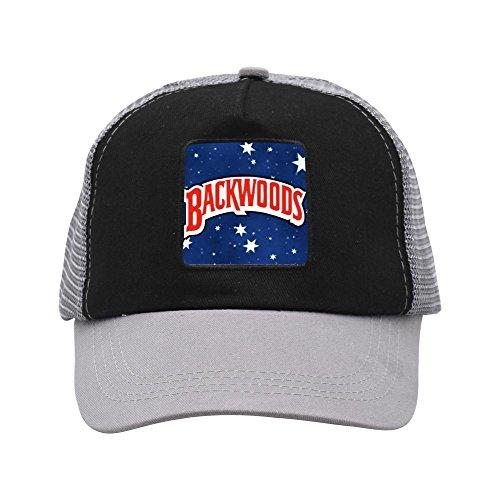 Backwoods Creative Baseball Cap Shade Fashion Unisex Grid Cap for Women Men