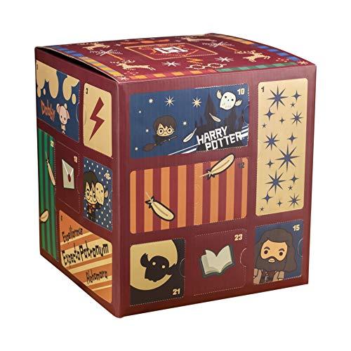 [해외]Paladone 프리미엄 해리 포터 큐브 어드밴트 캘린더 24 도어 2019 | 호그와트 가득한 선물 & 서프라이즈 | 모든 연령대의 어린이와 팬들을 위한 | 매일 아침 일어나서 약간의 마법 / Paladone Premium Harry Potter Cube Advent Calendar 24 Door 20...