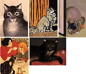 Metropolitan Museum of Art Boxed Note Cards, Cats (MN926)