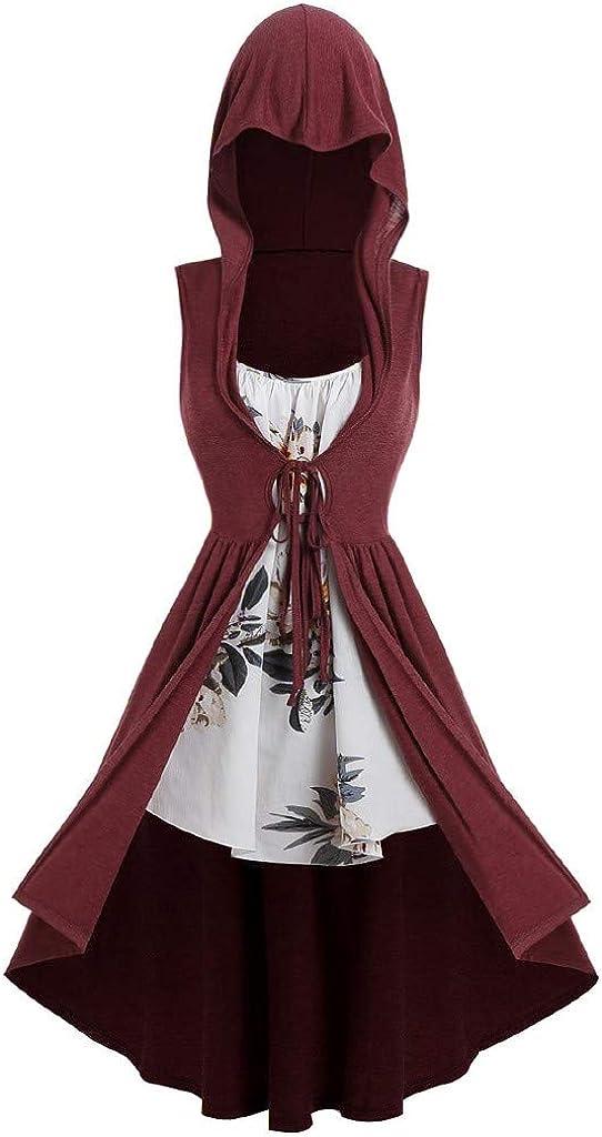 TWGONE Hooded Robe Vintage...